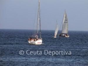 Una imagen de la segunda prueba del campeonato, que fue organizada por el RCN CAS de Ceuta