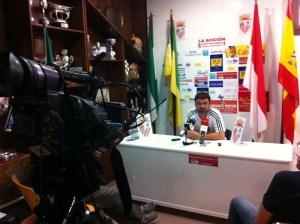 José Carlos Jiménez 'Mane' dirigirá al equipo ceutí por la baja de Álvaro Pérez