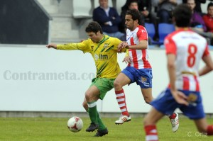 El equipo de Manolo Sanlúcar perdió en Torrelavega por un gol a cero