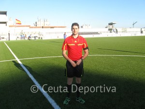Salvador Alcaraz Yáñez arbitrá el partido de vuelta entre el Algeciras y el Tropezón