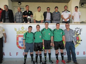 Salvador Alcaraz, que pitó la final juvenil en el Murube, arbitrará el domingo el Comarca de Níjar - Maracena del grupo 9