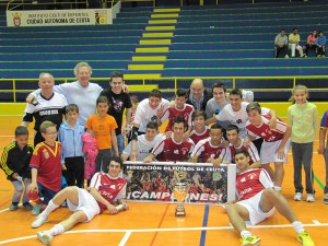 El Ciudad de Ceuta era el gran favorito y no falló en el play off por el título