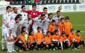 Los jugadores del Atlético de Ceuta aseguran que van a darlo todo hasta el final de la Liga