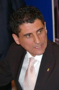 Antonio García Gaona, presidente de la Federación de Fútbol de Ceuta