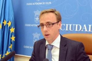 Guillermo Martínez, durante su comparecencia de prensa tras el Consejo de Gobierno