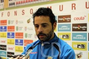 Baldomero Hermoso 'Mere' cree que al Atlético de Ceuta le pudo la ansiedad