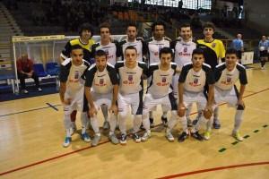 Una formación del FS Nazareno de Dos Hermanas de esta temporada