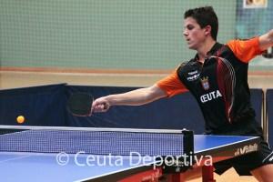 Álvaro Pérez, uno de los jugadores del Gabitec, en acción