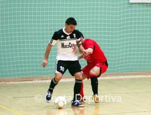 Salvador García 'Salvi' ha marcado dos de los seis goles de su equipo