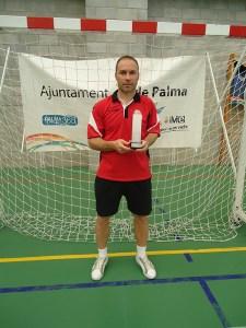 Felipe Barrientos se proclamó máximo realizador del torneo con 8 goles