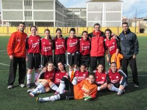 El Luis de Camoens se proclamó campeón de la Liga local de fútbol 8 femenino