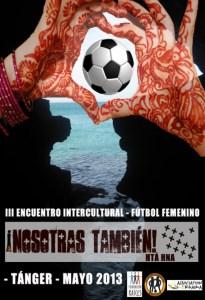 Cartel anunciador del torneo con sede en Tánger