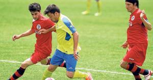 El Coria también sigue adelante gracias al gol marcado en Calahorra