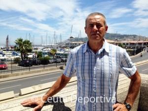 Antonio Peña dice que no se rinde a pesar de las dificultades que asegura que tiene para entrenarse