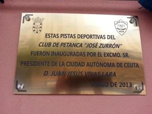 El presidente Vivas inauguró el sábado las nuevas instalaciones del CP Zurrón