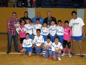 Plantilla del CD Puerto Disa, campeón de Liga benjamín y representante de Ceuta en el Nacional