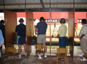 Imagen de archivo de una prueba de tiro olímpico