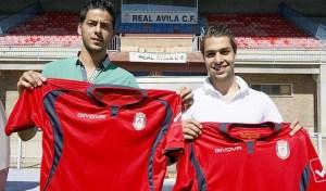 El jugador ceutí en su puesta de largo con el Real Ávila el verano pasado
