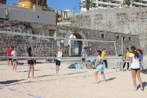 El Campeonato de Ceuta de voley playa vuelve tras un paréntesis de cinco años