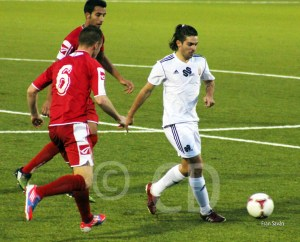 Jesús Villatoro afrontará su segunda experiencia fuera de la ciudad autónoma tras jugar en el Badajoz