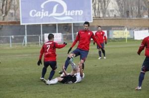 Juan Antonio Cabrera vive su segunda temporada en el Real Ávila, equipo del grupo VIII de Tercera División