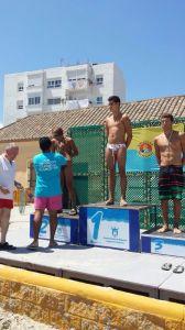 Juanqui Ríos terminó tercero en la clasificación general y segundo en la categoría infantil