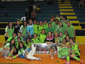 EL CD San Daniel ganó el título de la Liga local de fútbol sala en la última temporada