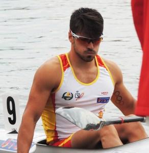 Paco Cubelos acarició el podium al terminar cuarto en k-1 1000 metros