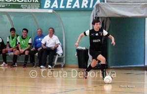 Imagen de un partido del Ciudad de Ceuta FS en la pasada temporada