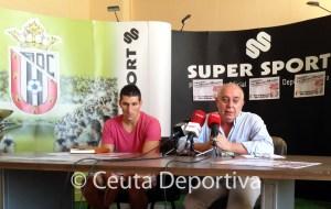 Jaime Morales y José Gil, durante la rueda de prensa