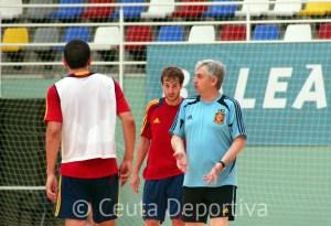 José Venancio López ha vuelto a destacar la calidad de la pista del 'Guillermo Molina'