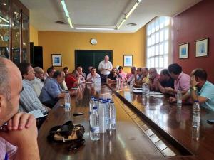 Los clubes del grupo X de Tercera se han reunido este lunes por la tarde en la sede de la FAF