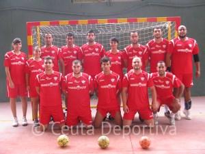 El Ramón y Cajal dispuso de estos jugadores para disputar un partido de exhibición en el García Lorca
