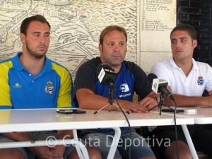 Sergio Aguilera se ha mostrado agradecido al Canoe por elegir Ceuta para su 'stage' de pretemporada