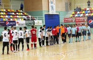 El Ceutí FS se impuso al CD El Ejido por 7-5 en el partido de la pasada campaña en el 'Guillermo Molina'