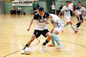 Ismael,  durante un partido de la pasada temporada