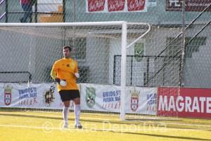 Pablo Antón, durante el partido del pasado domingo ante el Ayamonte