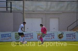 El Ceutí disputó su mejor partido en el Murube, pero se encontró con un rival muy fuerte. Foto: R.F.