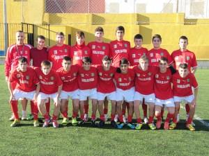 Selección cadete que el curso pasado participó en el Campeonato de España