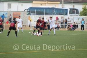 El Ceuta volvió a quedarse sin marcar como en Gerena, pero en esta ocasión cayó derrotado