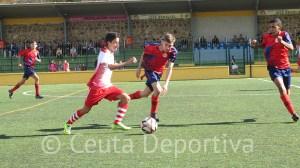 El Atlético Algecireño aguantó el tipo durante la primera parte ante el CD Puerto Disa