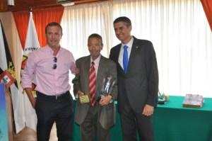 Hernández tuvo un merecido reconocimiento en la última edición de los 'Premios Excelencia' de la FFC