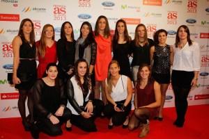 La selección femenina de waterpolo sigue recogiendo premios tras hacer historia en Londres y Barcelona