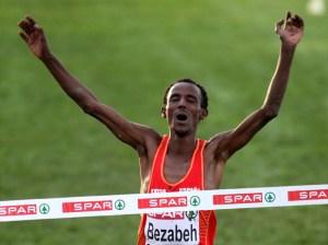 Bezabeh reeditó el éxito alcanzado en Dublín'09 cuando se proclamó por primera vez campeón de Europa de cross
