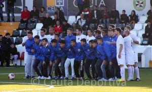 Los jugadores cadetes del CD Puerto recibieron el reconocimiento por su gran primera vuelta en la 1ª Provincial de Cádiz