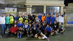 Los jugadores veteranos se volcaron con el partido solidario disputado en el Pirri