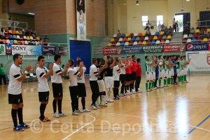 Los jugadores del Ceutí también sacarán su entrada para unirse a esta iniciativa solidaria