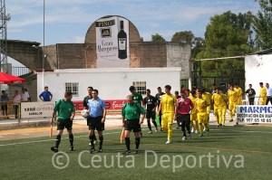 El Ceutí buscará la sorpresa en el campo del Atlético Sanluqueño, segundo clasificado