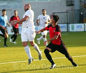 Pepe Martínez jugó en Cádiz una vez recuperado de su lesión