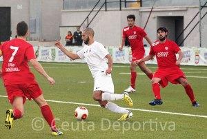 Perita cree que el Ceuta tendrá que realizar un partido muy intenso si quiere superar al San Juan